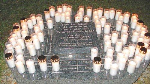 Gedenkandacht auf dem Jerusalemsfriedhof  V aus Anlass des 80. Jahrestages des Überfalls auf die Sowjetunion