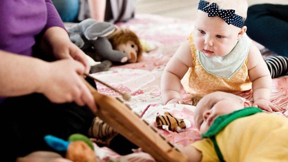Babysalmesang Start