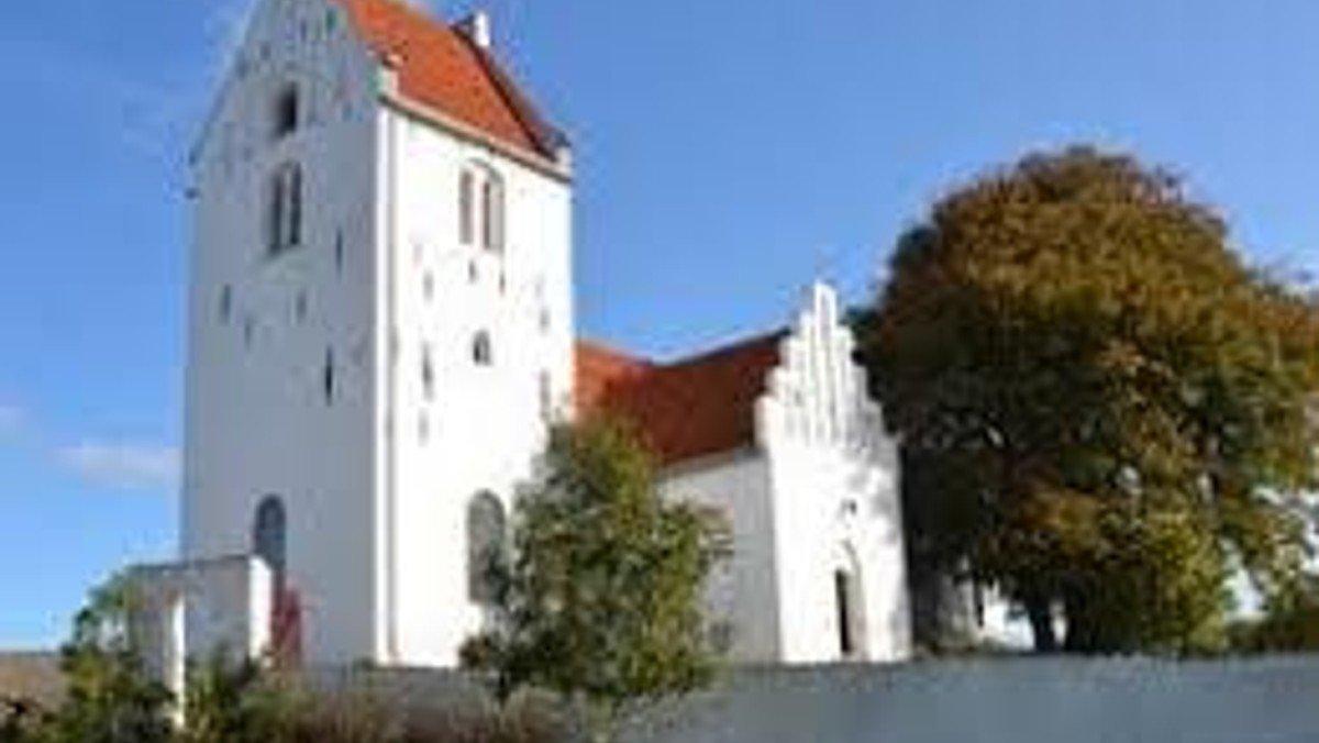 Gudstjeneste i Store Fuglede Kirke