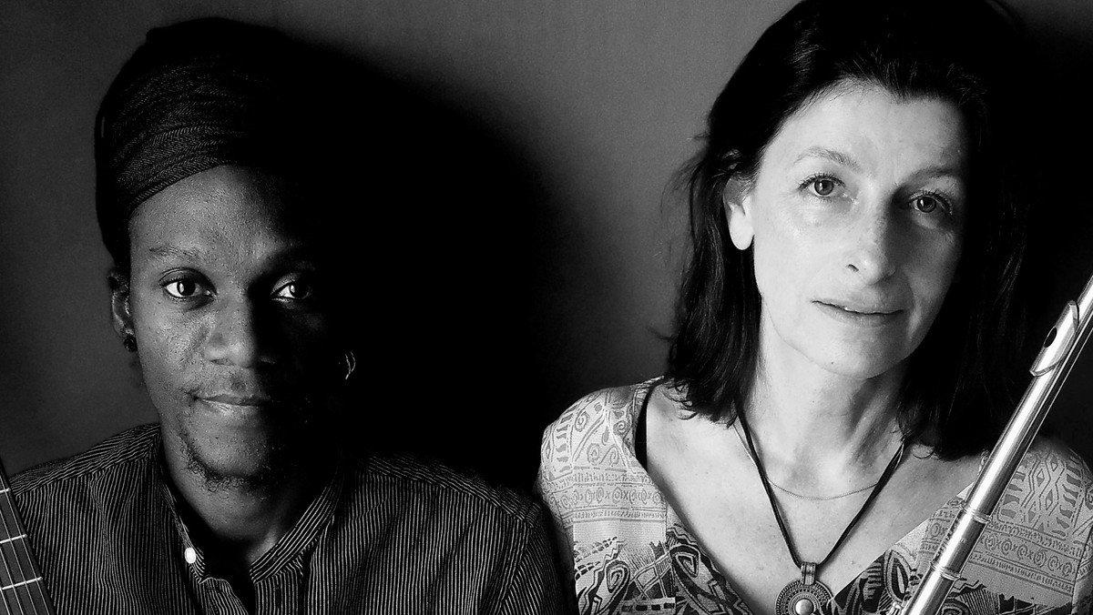 """Jazz i det grønne"" ved Hospitalet med Mariane Bitran og  Alain Apaloo"