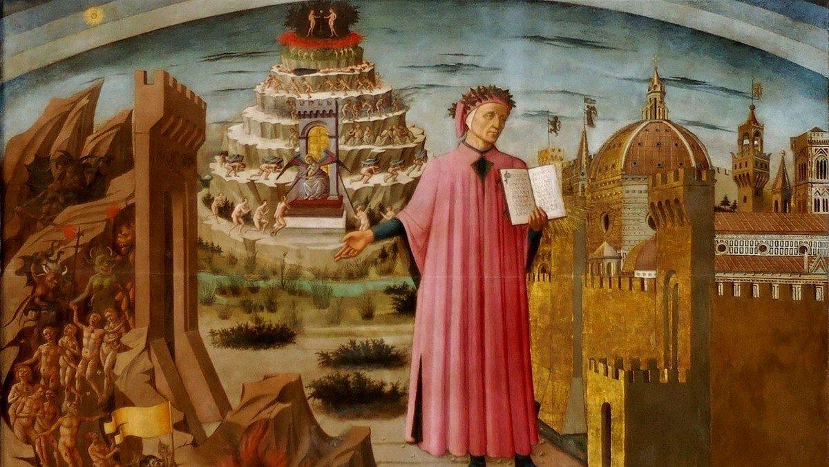 FOREDRAG  - Dantes Guddommelige  Komedie -  ved Martin Herbst