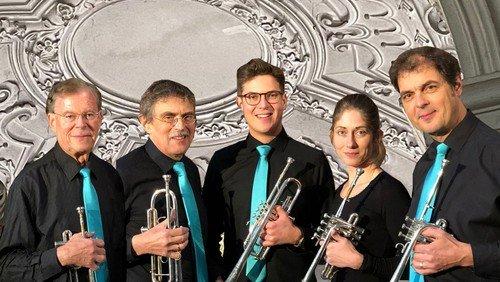 Feuerwerk! Festliche Musik für Trompeten und Orgel