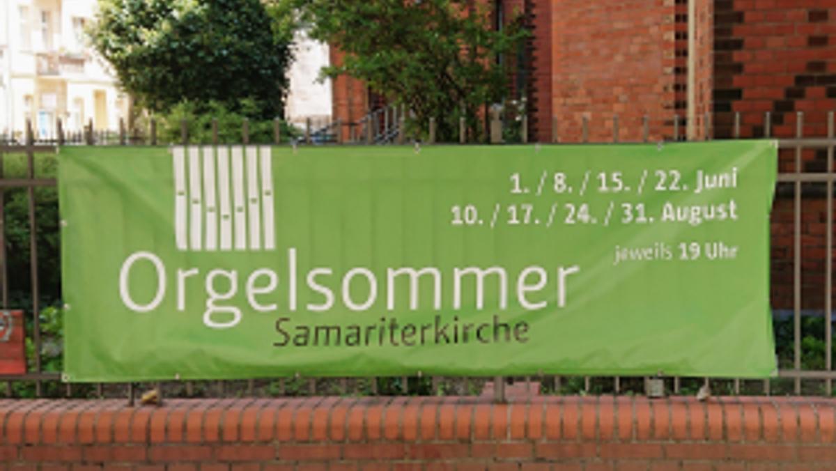 Orgelsommer in der Samariterkirche