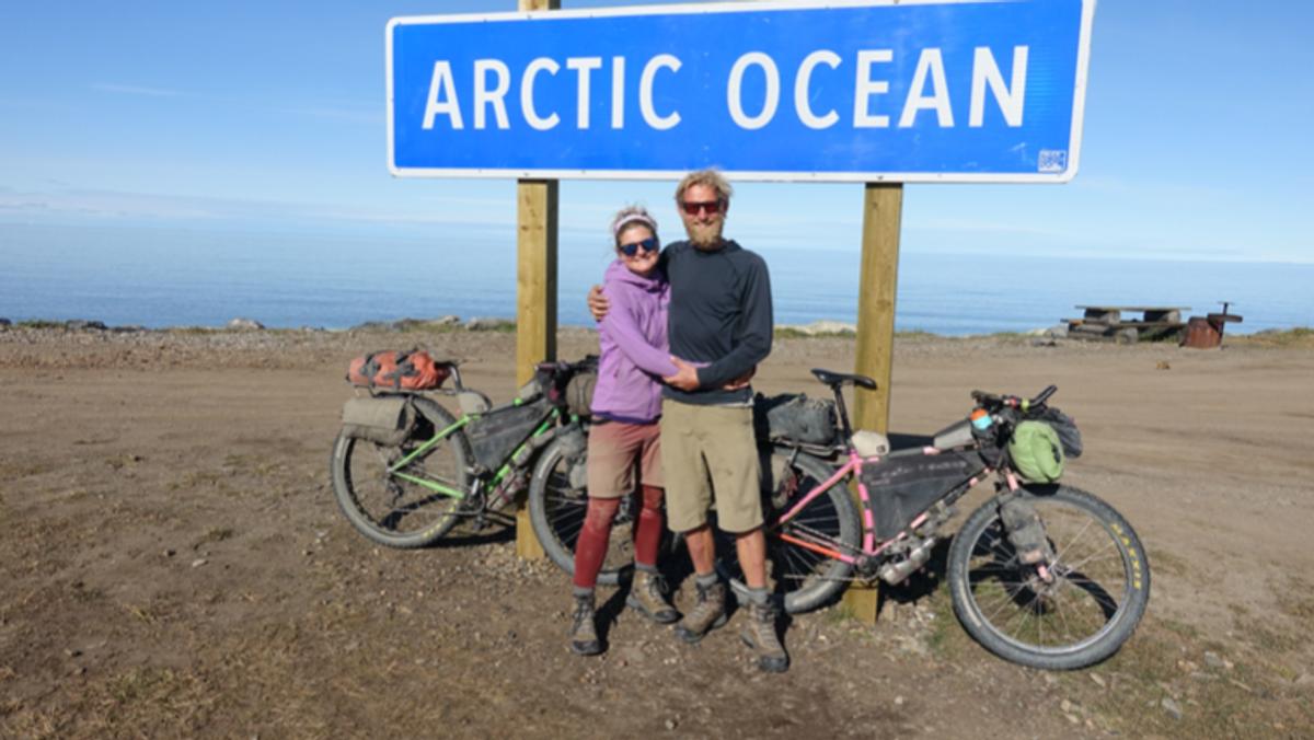 Foredrag med Bikepackers