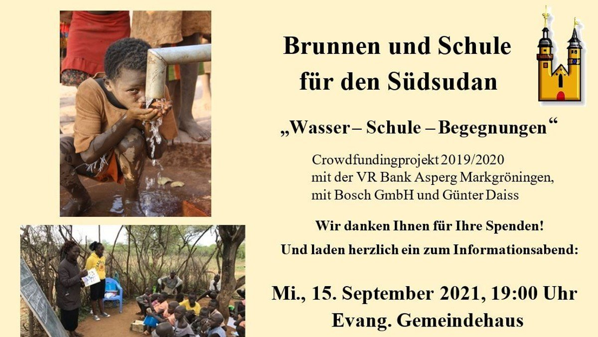 Vortrag Südsudan Brunnenprojekt
