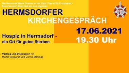 Hermsdorfer Kirchengespräch DIGITAL: