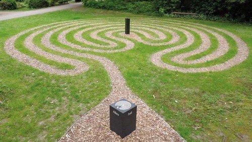 Einkehrzeit im Labyrinth