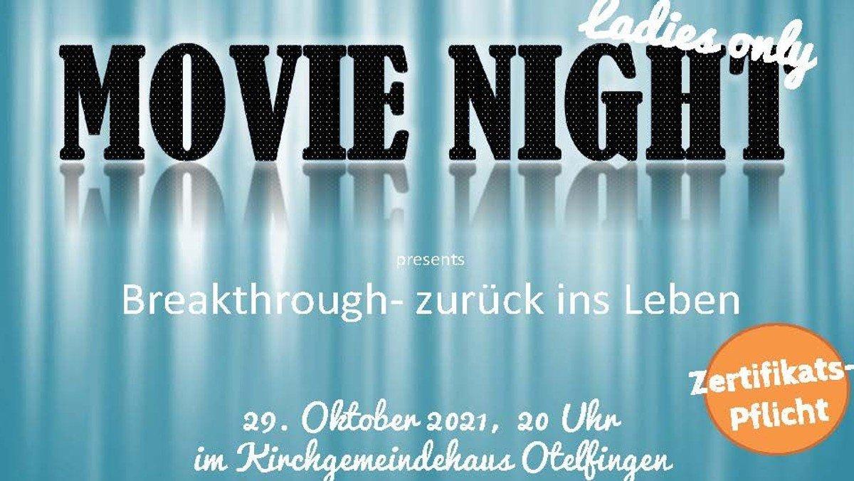 Mit Zertifikat - Movie Night - Ladies only
