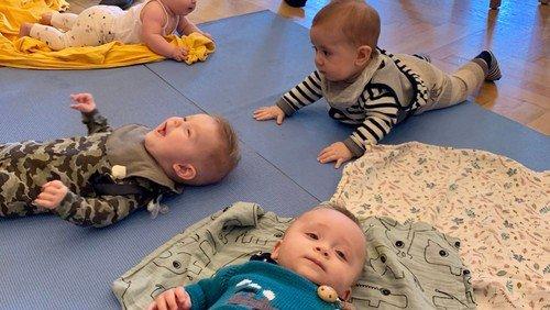 Babysalmesang 1. gang - 3-6 mdr (tilmelding)