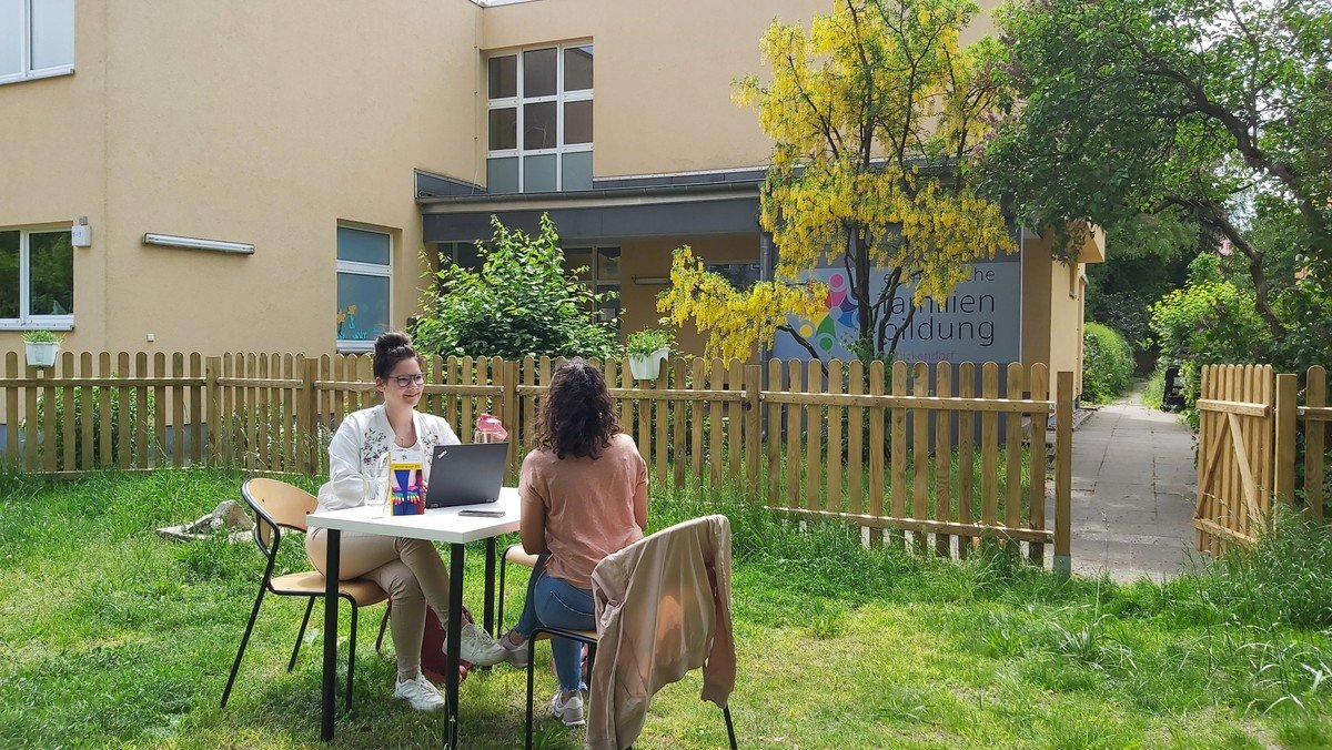 Familienlots*in–Sprechzeit in der Familienbildungsstätte