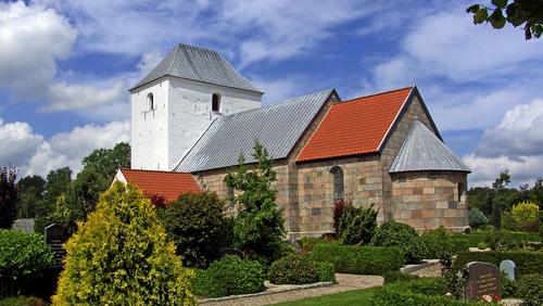 Højmesse i Vorning Kirke