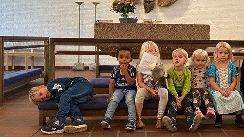 Børne- og Familiegudstjeneste ved Mette Enevold