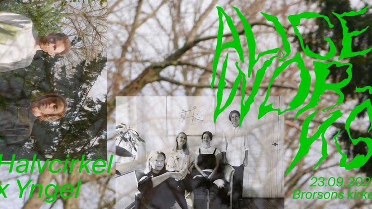 ALICE Works: Halvcirkel x Yngel at Brorsons Kirke