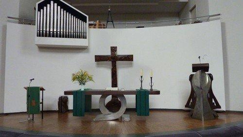 Gottesdienst in der Königin-Luise-Gedächtniskirche