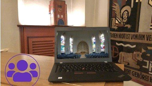 Gottesdienst DIGITAL für die Kreuzkirche Schmargendorf mit Vorstellung der Konfirmanden