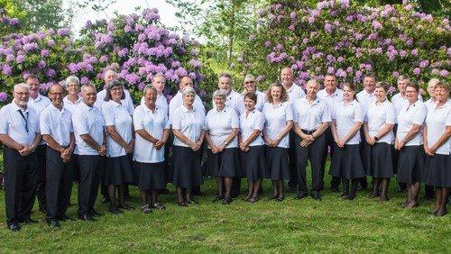 Hornblæsere og syng-sammen med Brønderslev Harmoniorkester