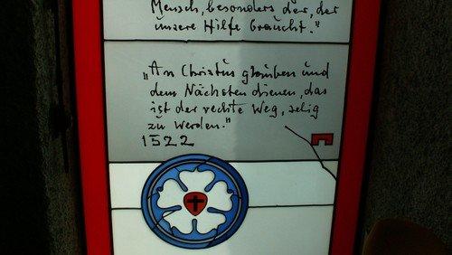 Gottesdienst und Gemeindeversammlung Martin-Luther-Kirche