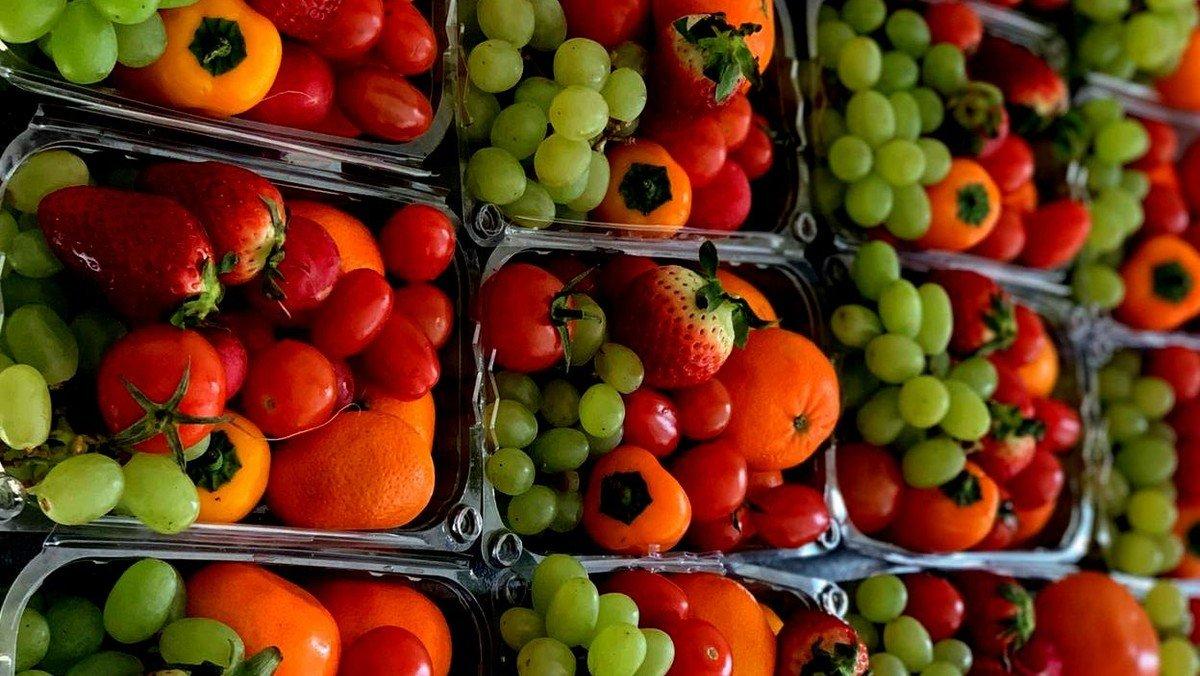 Lebensmittelausgabe