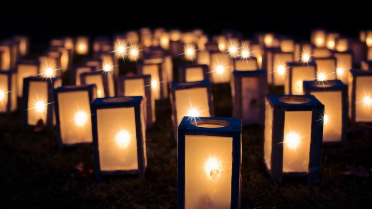 Lanterneoptog i samarbejde med Sct. Marie kirke
