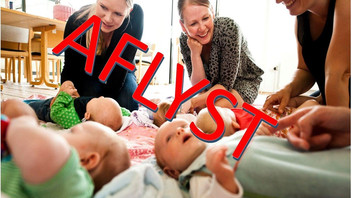 AFLYST!!!! Babysalmesang