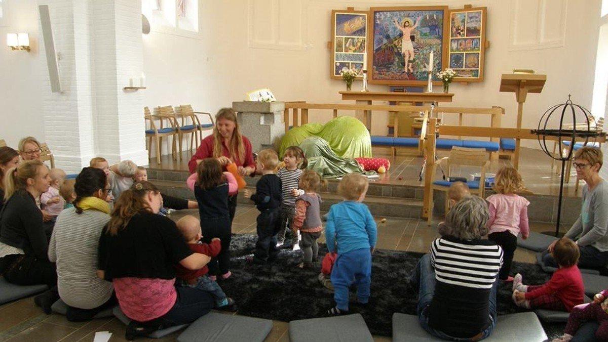 Krudtuglekirke i menighedscenteret