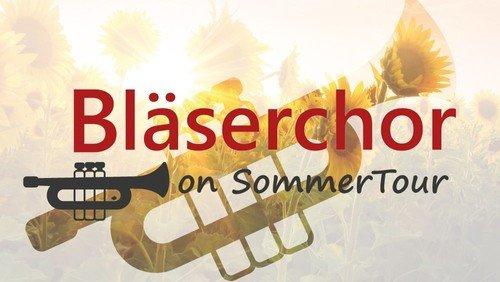 Bläserchor on SommerTour