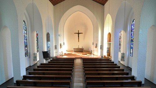 Offene Kirche nach dem Gottesdienst