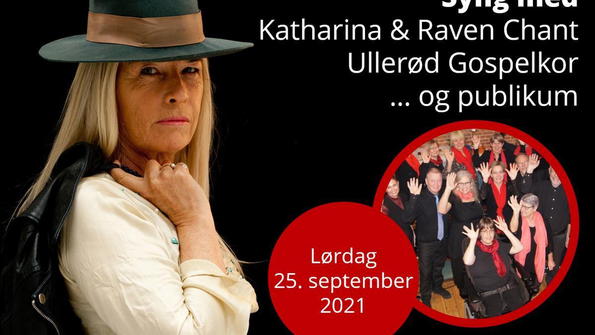 Koncert med Katharina & Raven Chant og Ullerød Gospelkor