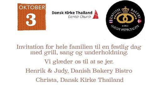 Festlig aften med barbecue, pub-quiz og danske sange