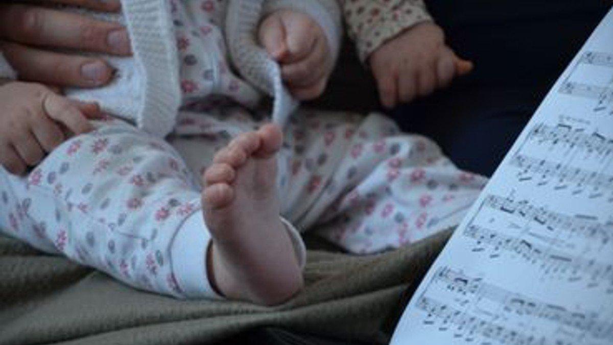 Musik for babyer (0-12 måneder)