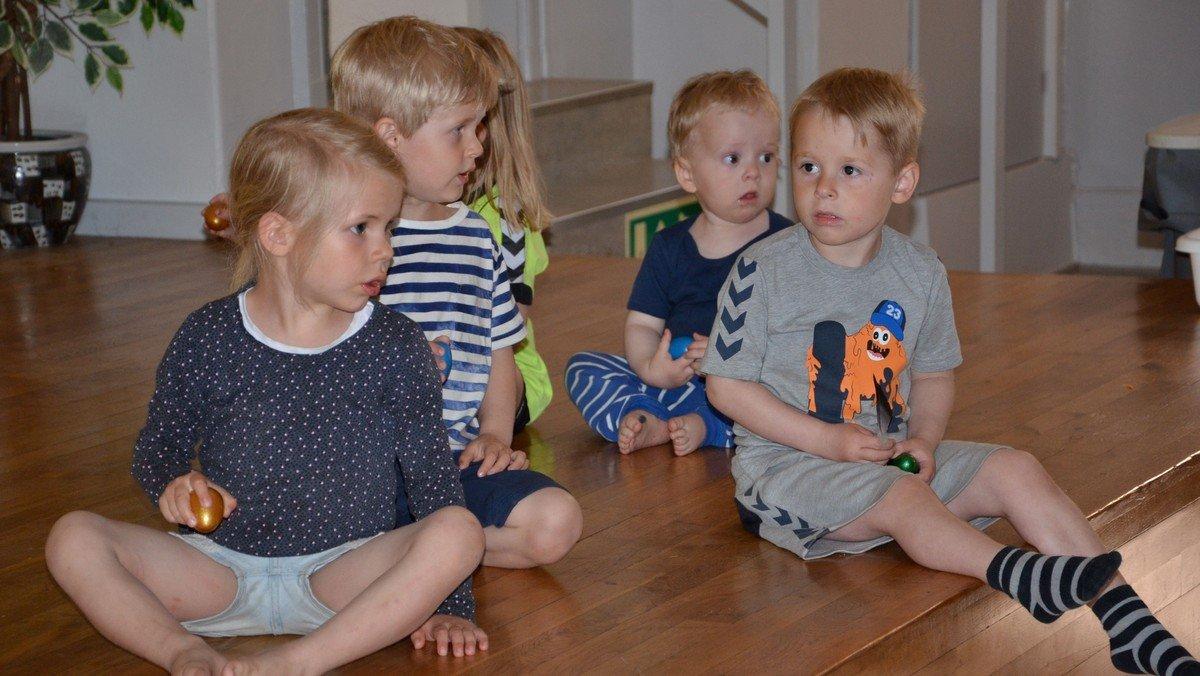 Musik for små børn - vuggestuebørn