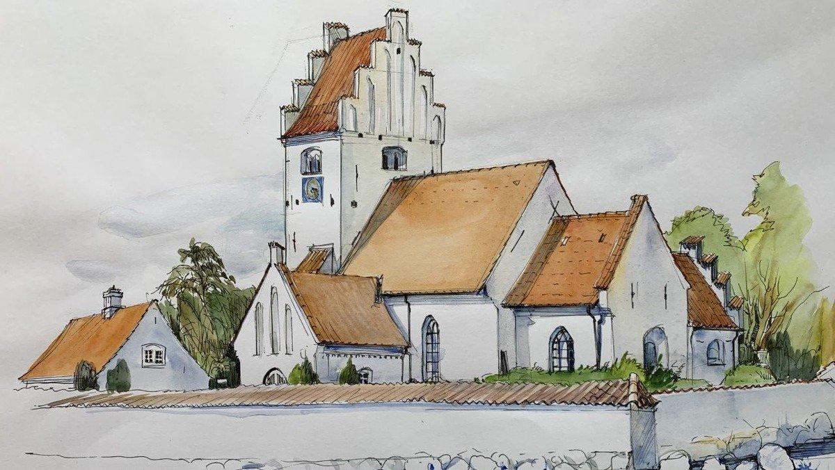 Højmesse i Lundby og konfirmationsforberedelsesinformation