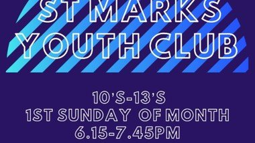 Youth Club (6.15pm - 7.45pm) - tbc
