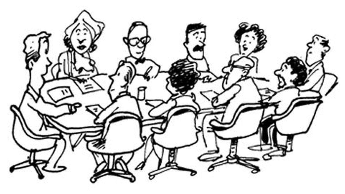 Menighedsrådsmøde i Grenaa