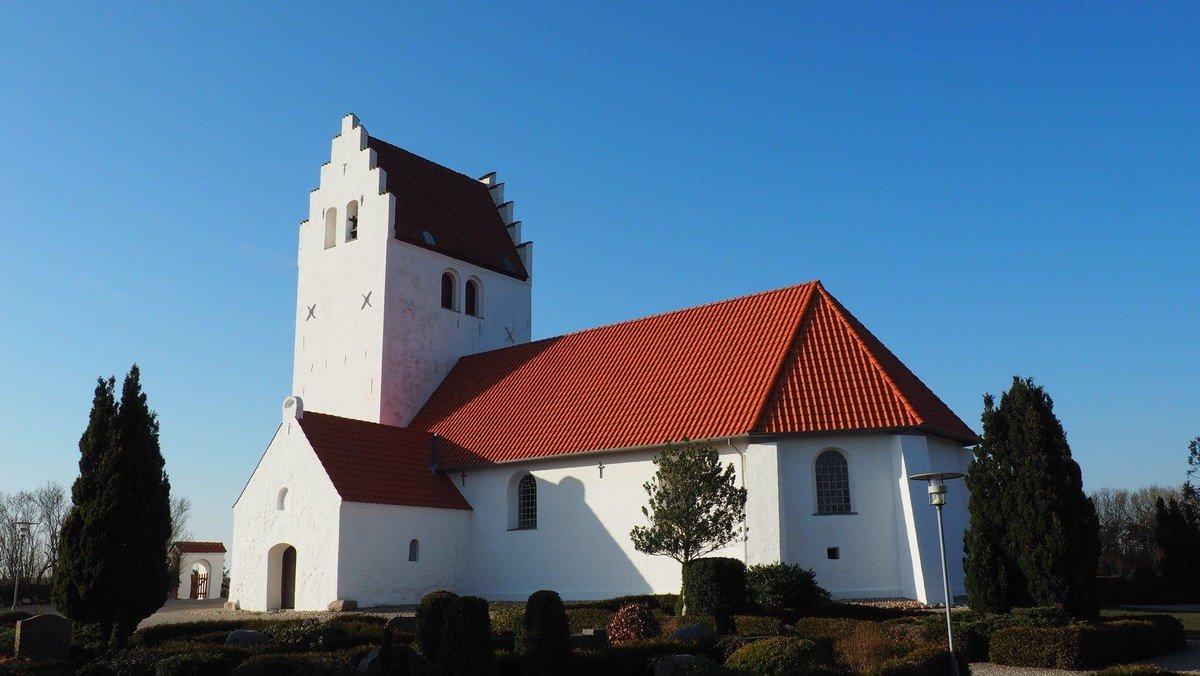 Gudstjeneste i Kastbjerg Kirke