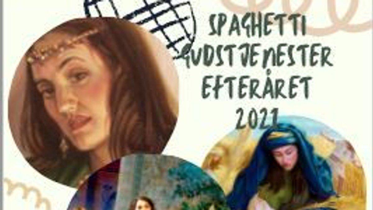 Spaghettigudstjeneste - Dalia der klippede Samson