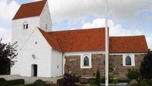 Gudstjeneste i Ejstrup kirke kl. 9.00 v. Kirsten Juul