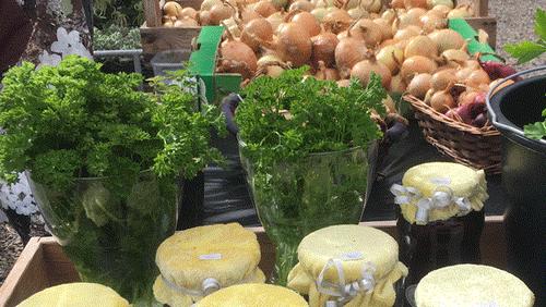 Høstmarked i Brøndbjerg