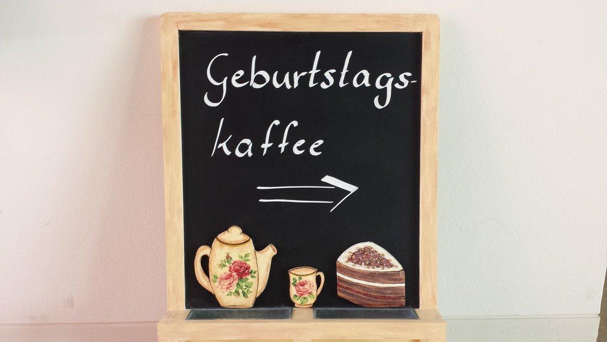 Geburtstagskaffee
