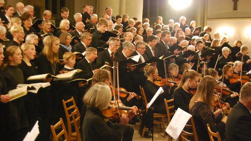 Chorprobe Singgemeinschaft in der Kirche!!!