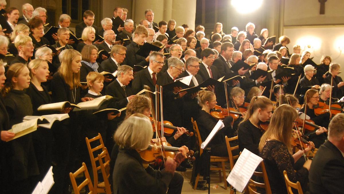 Chorprobe Singgemeinschaft