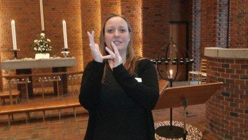Gudstjeneste med tegnsprogstolkning