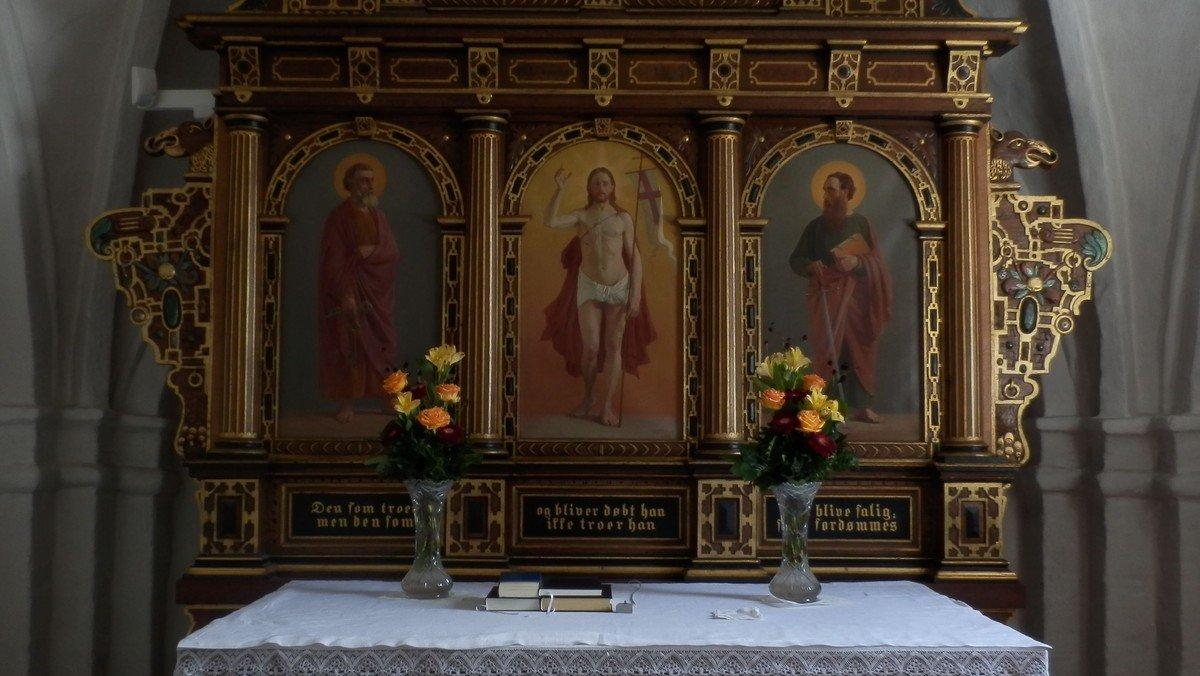 Gudstjeneste i Oppe Sundby Kirke