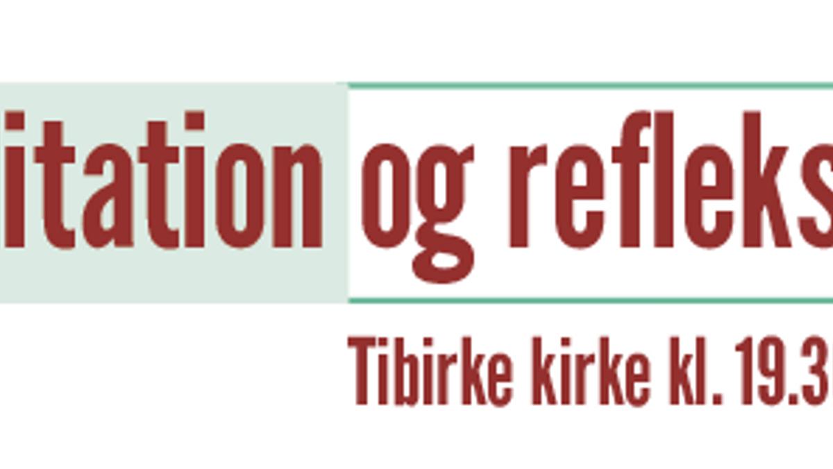 Meditationsgudstjeneste i Tibirke kirke