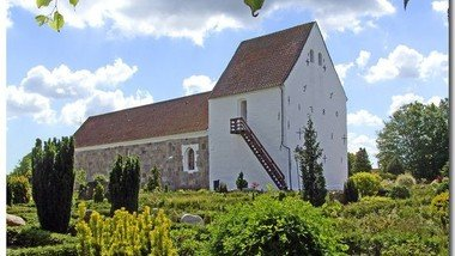 Gudstjenesten i Klovborg kirke kl. 9.00 v. Kirsten Juul