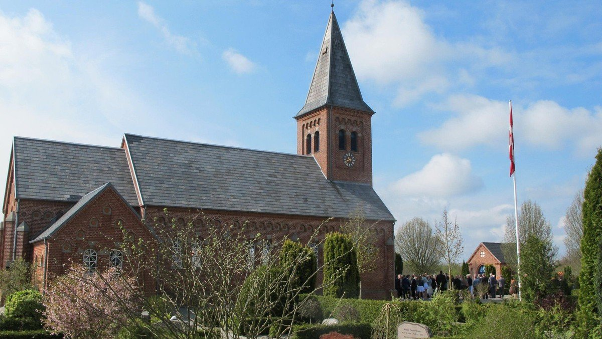 Konfirmation i Gludsted kirke