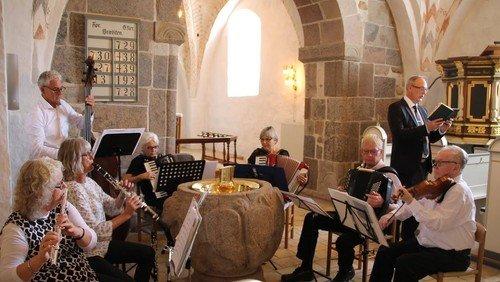 Høstgudstjeneste i Ejstrup kirke