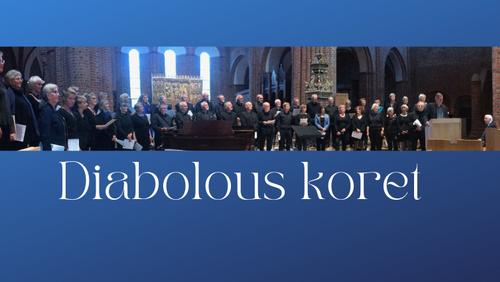 Håb og Bach-koncert med Diabolus-koret, dirigent John Høybye og organist Mads Granum