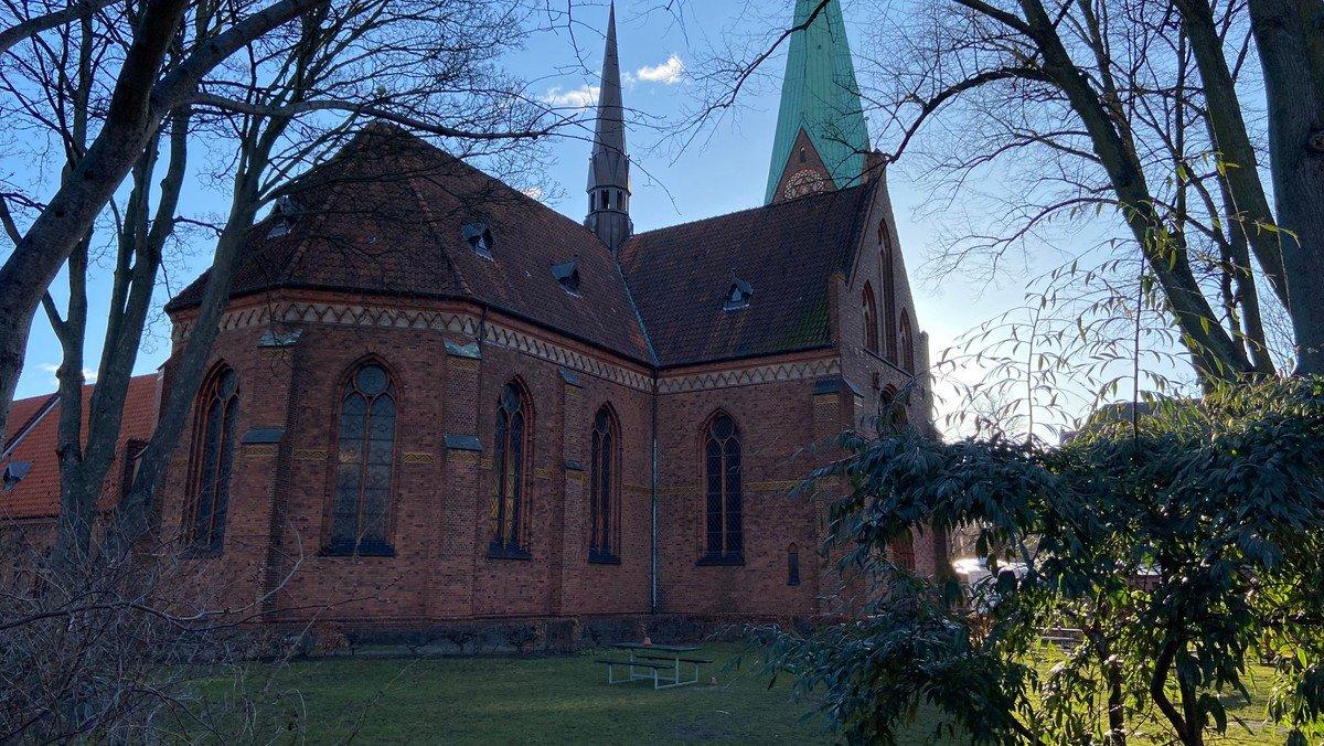 Højmesse i kirken