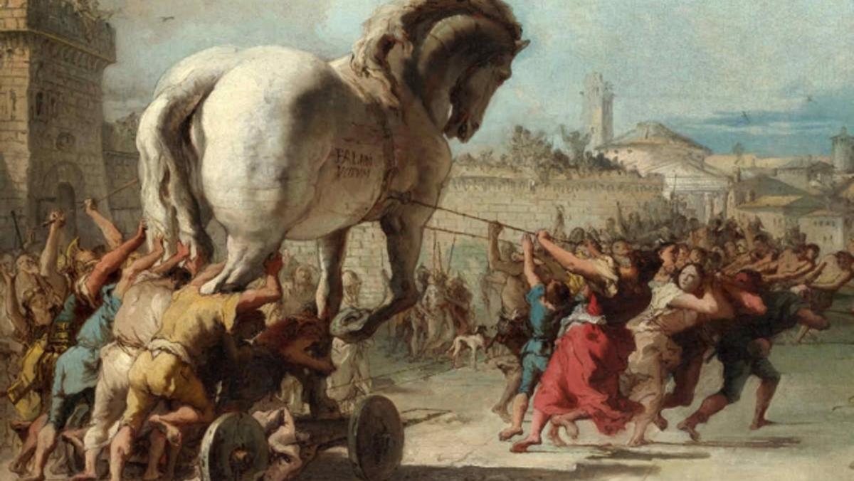 Studiekreds  - Vestens Store fortællinger - IIliaden, Odysséen og Aeneiden